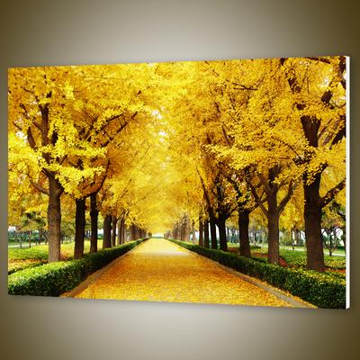 黄金树无框画