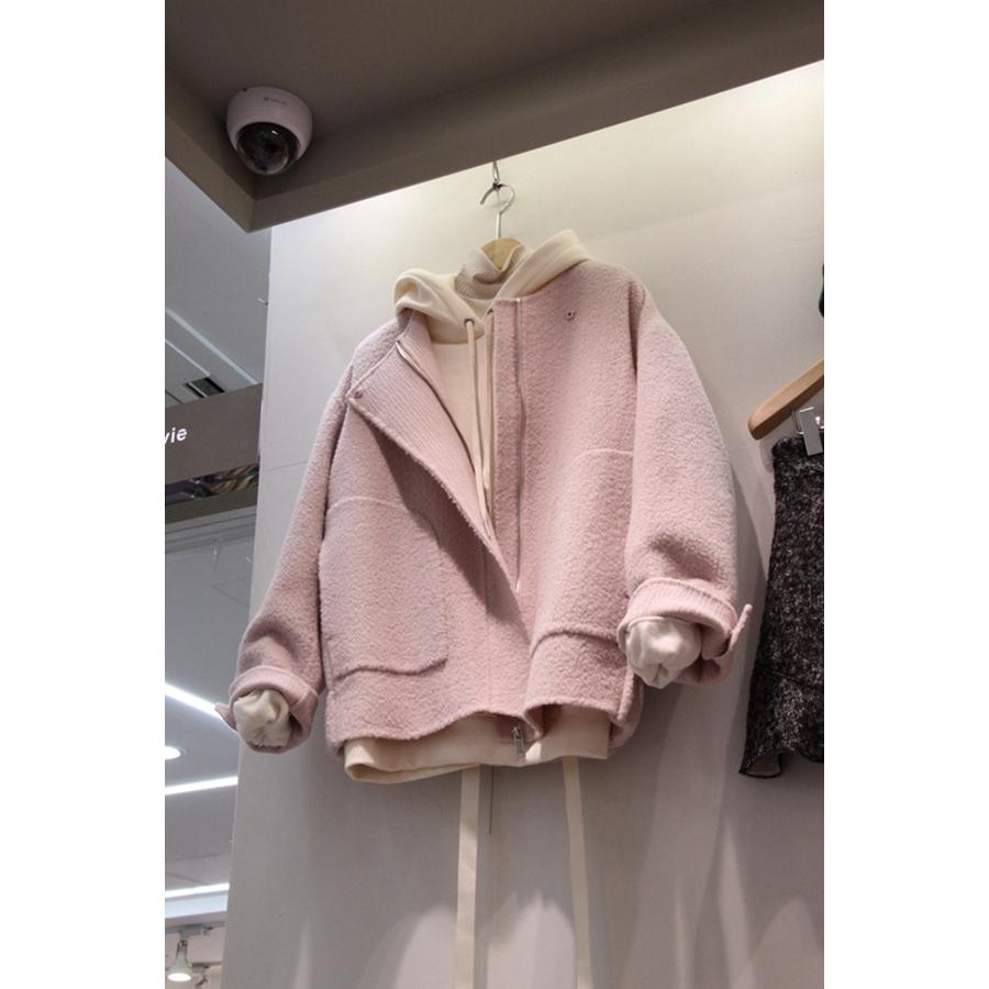 韩国东大门正品代购新款女装2018秋冬装女士拉链休闲夹克
