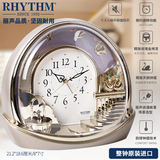RHYTHM beauty clock European retro golden fairyland living room office luxury decoration 4SE504