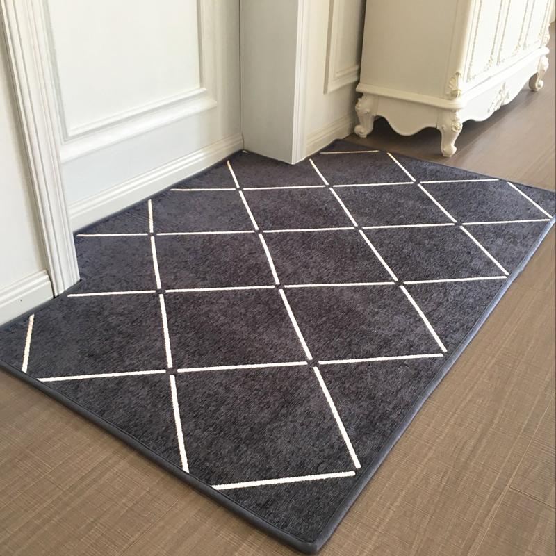 地垫门垫进门入户门蹭脚垫家用门厅客厅卧室地毯北欧门口防滑垫子