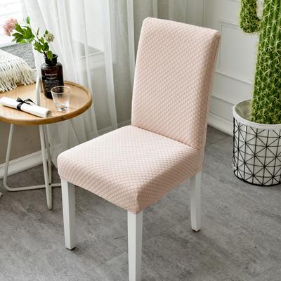 加厚弹力椅套连体酒店饭店餐桌椅子套罩家用针织凳子套座椅罩通用