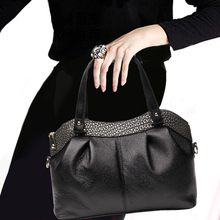 European and American Fashion Ladies'Leather Single Shoulder Bag