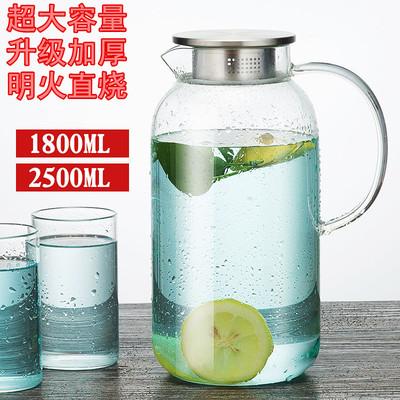 家用凉白开水壶玻璃
