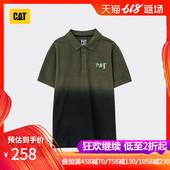 卡特春夏款 CAT 渐变色POLO 男装 CH1MPSSP162A98