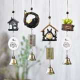 Wind bell hanging decoration Xiaoqing fresh copper bell hanging piece net red Japanese creative hanging door room decoration girl's Day gift