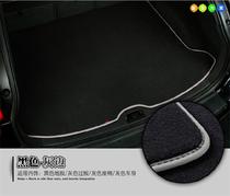 适用于奥迪A6L/a4l绒面尾箱垫q7/q5/a8l/a5/a3丝绒后备箱垫原厂款