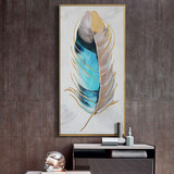 DUDUO are more than a clearance sale of pure hand-painted oil painting European light luxury living room porch decorative painting abstract paintings