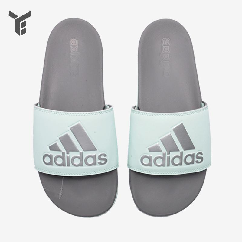阿迪达斯女鞋拖鞋夏季新款女运动休闲沙滩防滑凉鞋拖鞋F34737