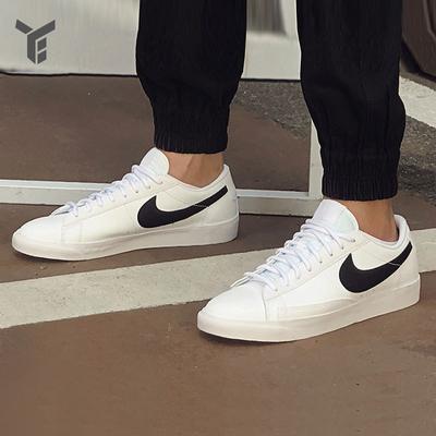 耐克男鞋blazer复古小白鞋轻便运动鞋休闲板鞋AO2788-101 BQ7306