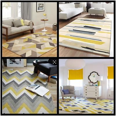地毯客厅地中海长方形