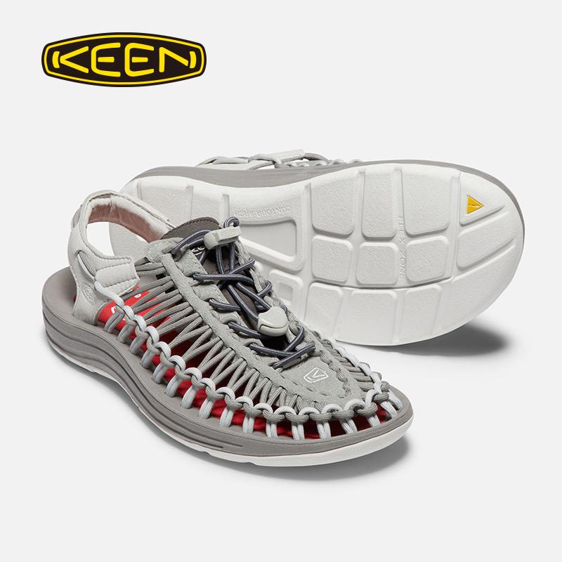 KEEN UNEEK Nature gray 设计师限定款男女夏季凉鞋溯溪鞋203010