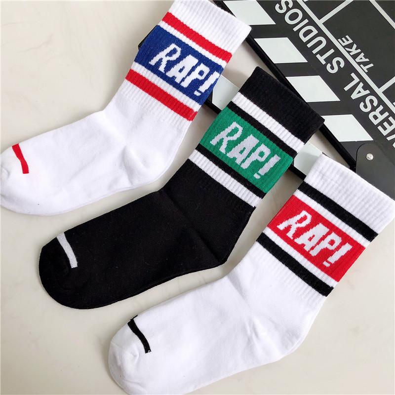 长袜男潮街头欧美枫叶潮牌滑板袜女长筒ins袜子男嘻哈篮球中筒袜
