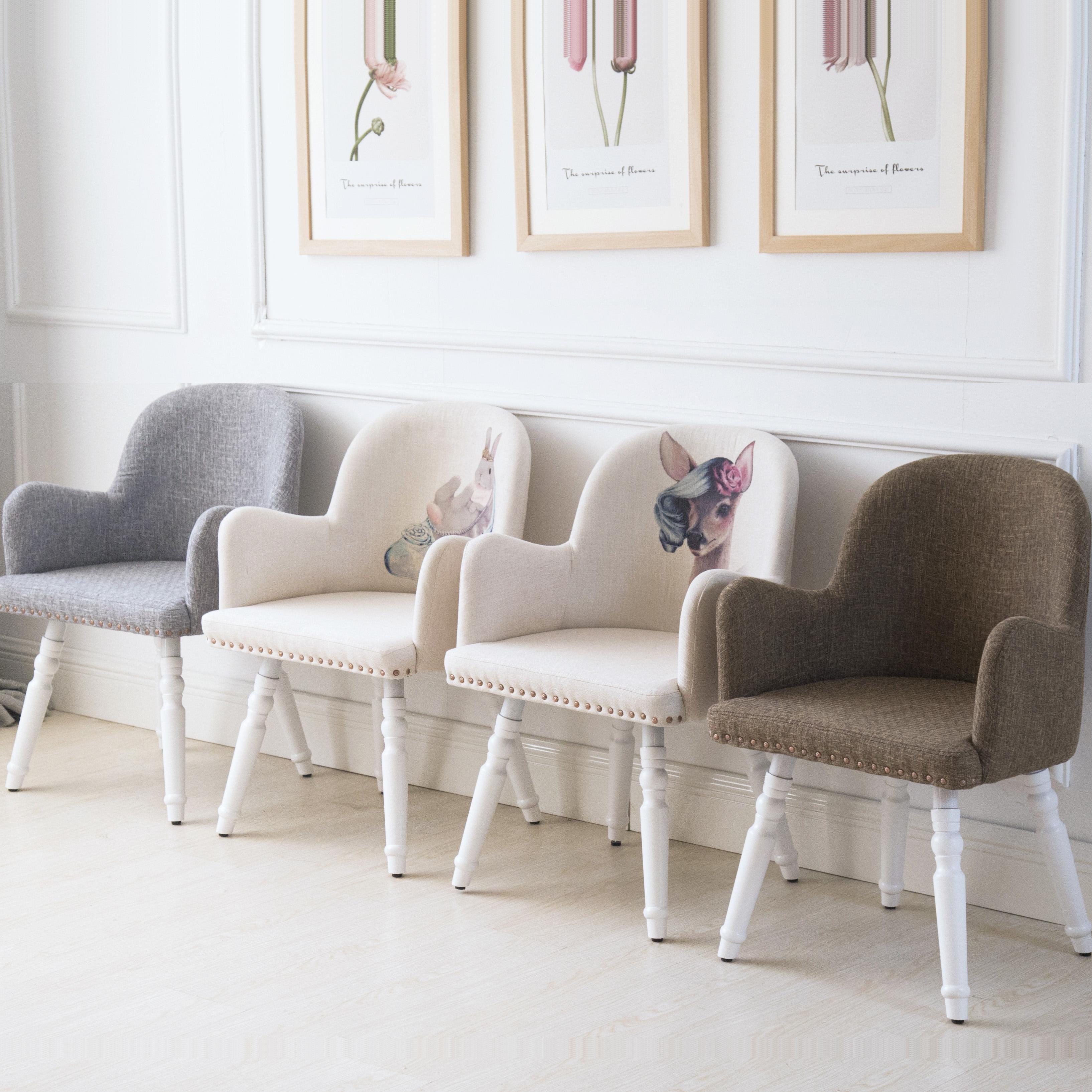 餐椅带扶手现代