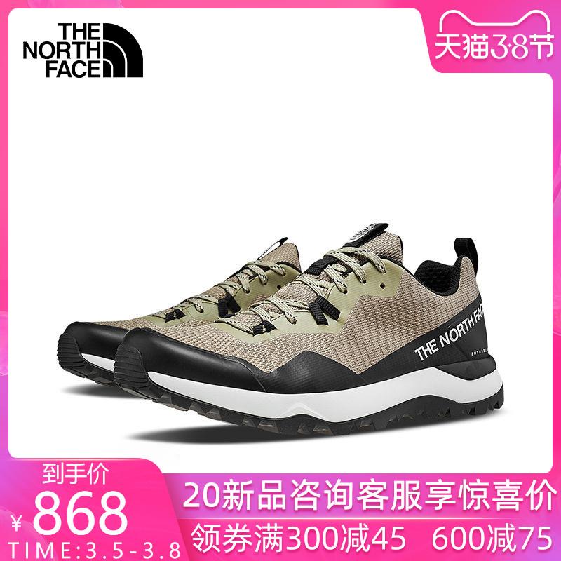 2020春夏新品TheNorthFace北面男鞋徒步鞋户外低帮防水登山鞋3YUP
