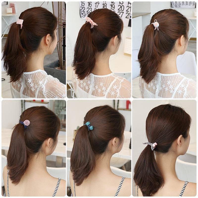 儿童扎头发橡皮筋韩国女童公主头花百搭头绳女孩发饰成人发绳头饰