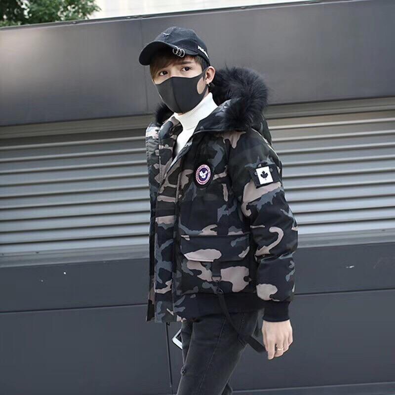 韩版男孩羽绒服