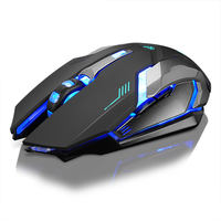 Jingya wireless mouse charging Lenovo notebook desktop computer silent mute game office unlimited boys and girls general photoelectric lithium battery can draw esports machinery to eat chicken luminous mouse