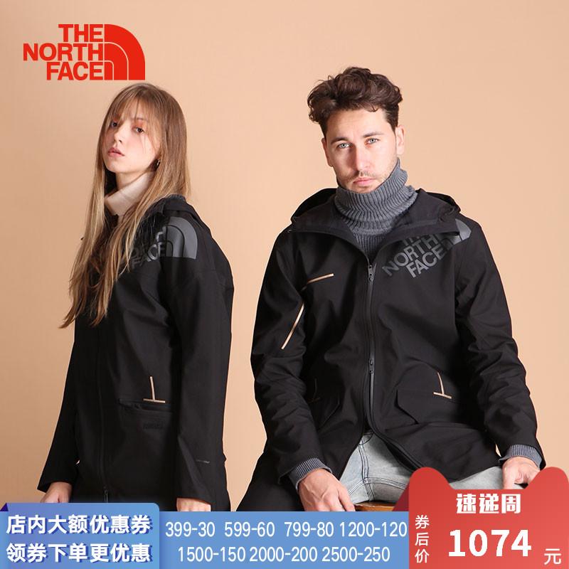 TheNorthFace北面2018秋冬户外防水冲锋衣男潮牌中长款外套|3GJ5