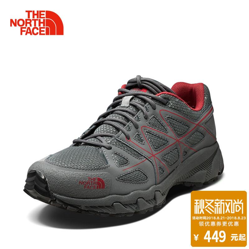 18夏季新品TheNorthFace北面运动徒步鞋登山鞋 男耐磨防滑2Y9X