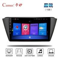 斯柯达15新明锐速派野帝昊锐DVD导航仪一体机安卓10.2寸大屏