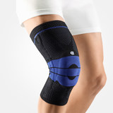 Protect and protect the knee of the BAUERFEIND GenuTrain Sports Run Marathon Knee Care