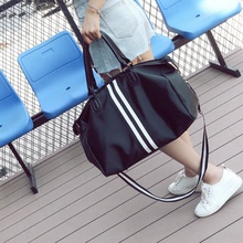 旅行袋女短途小号大容量轻便单肩包防水耐磨加厚简约韩版手提袋