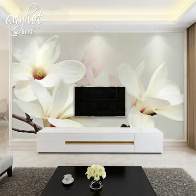 卧室床墙纸壁画正品折扣