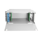 Yuexin 72-port optical fiber distribution frame ODF frame 72-port ODF disk ODF fiber-optic unit box Empty box