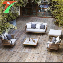 户外桌椅室外露天休闲家具花园庭院铁艺铸铝露台椅阳台桌椅