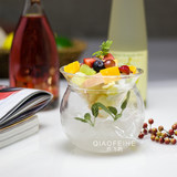Creative cold dish molecular cuisine Fruit salad glass Bowl set bar cocktail Da Dong Italian cuisine