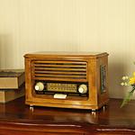 唐典 R-072 仿古复古收音机 多功能台式插卡音箱