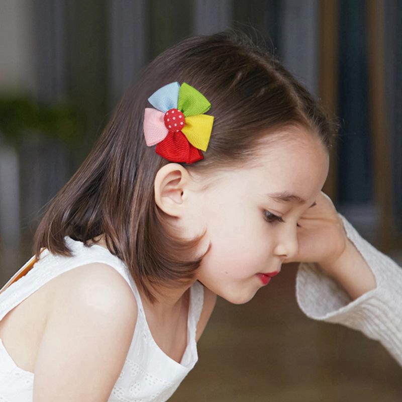 儿童发夹可爱公主淑女婴儿头花蝴蝶结小女孩发卡发饰头饰女童宝宝