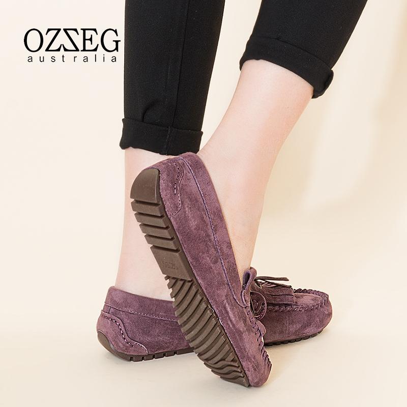 单鞋女真皮冬季