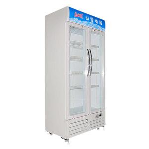白雪SC-506FD家用商用冷藏立式陈列冷柜自动调温静音节能展示柜