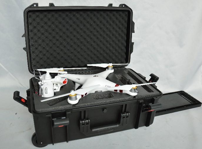 DJI大疆精灵3安全箱phantom4航拍拉杆户外旅行防护配件箱JD5524
