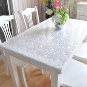 PVC防水防烫桌布软塑料玻璃透明餐桌布桌垫免洗茶几垫台布