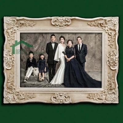 树脂欧式法式画框 镜框相框 婚纱照片放大装裱 客厅卧室床头 书房