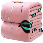 冬季用加厚保暖珊瑚绒毛毯被子法兰绒毯子床单单件单人学生宿舍垫