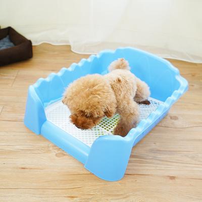 围栏公母狗狗厕所尿盆比熊泰迪便盆犬宠物用品防喷溅加高送21礼