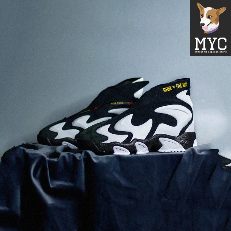 【MYC】REEBOK/锐步 MOBIUS EXPERIMENT黑白经典复古篮球鞋EF4640