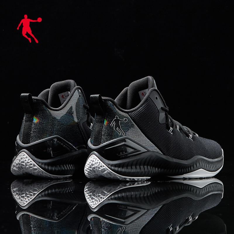 乔丹篮球鞋男高帮夏季透气运动鞋2019新款男鞋网面战靴球鞋鞋子