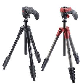 曼富图MKCOMPACTACN便携微单相机手机volg摄影摄像三脚架套装正品