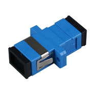 SC Simplex Flange Fiber Coupler sc-sc Flange Connector Fiber Optic Adapter Carrier Grade