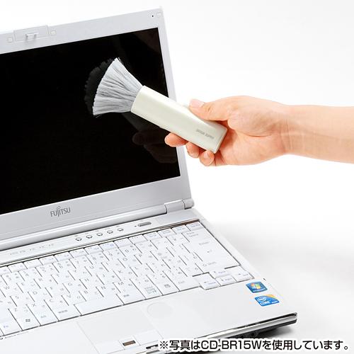 日本SANWA除静电计算机清洁刷 键盘刷携带方便去静电台湾制造