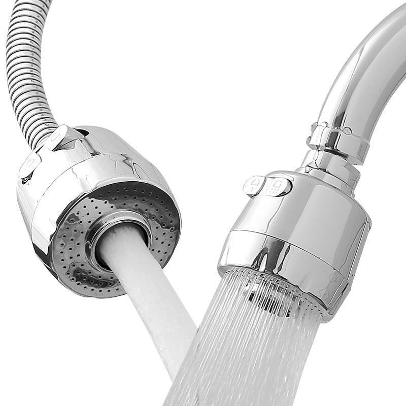 厨房用通用水龙头嘴防溅头嘴花洒头节水器防溅器过滤嘴加长延伸器