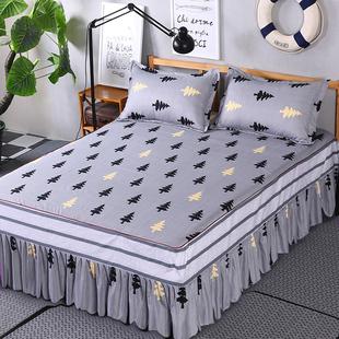 欧惠雅席梦思床罩床套床裙单件公主床盖床单床笠1.8/1.5/2.0m米