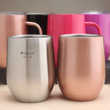 Mylan 304 stainless steel vacuum insulated water cup Office hot and cold drink cup milk coffee cup beer cup