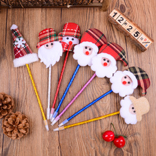 Christmas decoration ballpoint pen shop creative decorative articles Christmas pen festival decoration props small gifts
