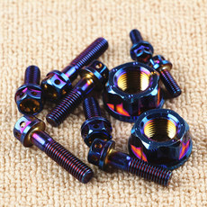 Calf N1S modified screw 304 stainless steel burnt titanium screw electric car electric motorcycle modification set color screw