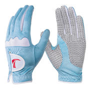 2 pairs of golf gloves, women's models, non-slip gloves, microfiber cloth, one hand, sunscreen, breathable
